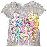 [ナカタ] 半袖Tシャツ SG9076スター☆トゥインクルプリキュア ラバーTシャツ