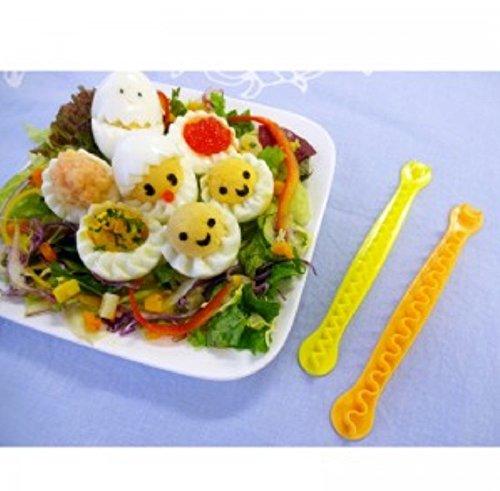 簡単クッキング 手軽に ゆで卵の飾り切り 花卵コロン(カランコロン) お弁当にも