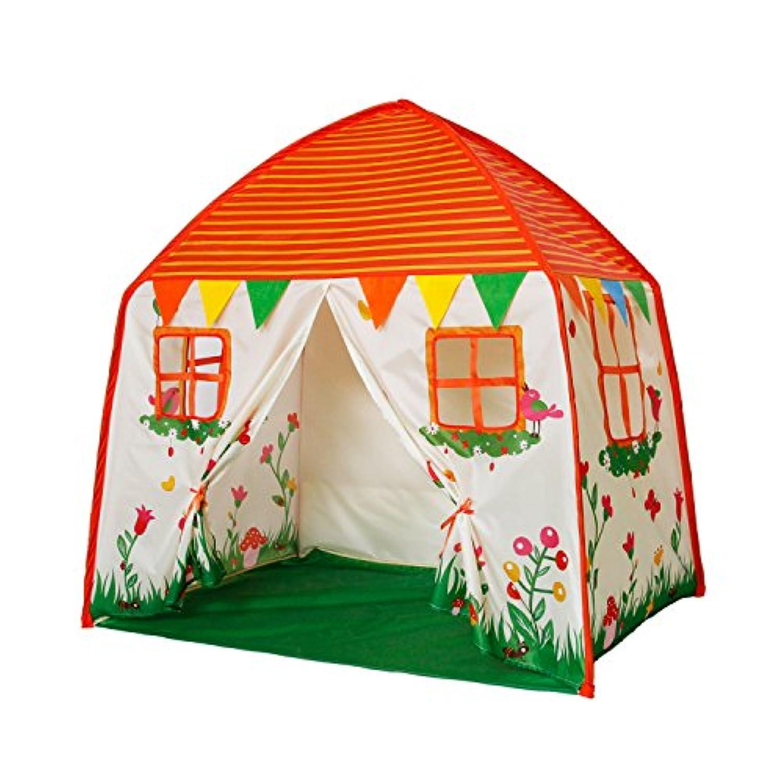 Homfu 子供用テント ハウステント キッズテント 折り畳みテント 窓付き おもちゃハウス  クリスマス お誕生日 お出産祝いプレゼント