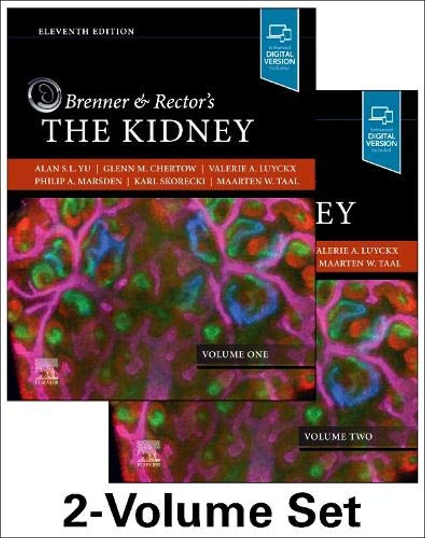 キャンプ換気するヒゲクジラBrenner and Rector's The Kidney, 2-Volume Set, 11e