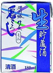 清洲桜醸造 清洲城信長鬼ころし冷酒ミニパック [ 日本酒 愛知県 180mlx30本 ]