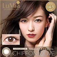 LuMia(ルミア) ワンデー14.5mm/10枚入 【シフォンオリーブ】 -6.00