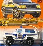 Matchbox Law & Order Chevy Blazer Police White #32