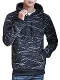 [サコイユ] パーカー トレーナー 長袖 トップス 裏起毛 プルオーバー フード付き カジュアル おしゃれ 秋冬 メンズ