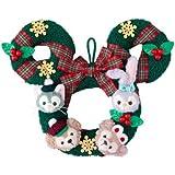 ダッフィー&フレンズ クリスマス リース ダッフィーのクリスマス2018  ディズニー お土産 【東京ディズニーシー限定】