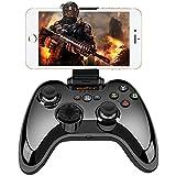 iPhone コントローラー Apple認証 IOS Bluetooth MFi ゲームパッド iPhone, iPad, iPod touch, apple TV対応 (黒) PXN Qixun Tech