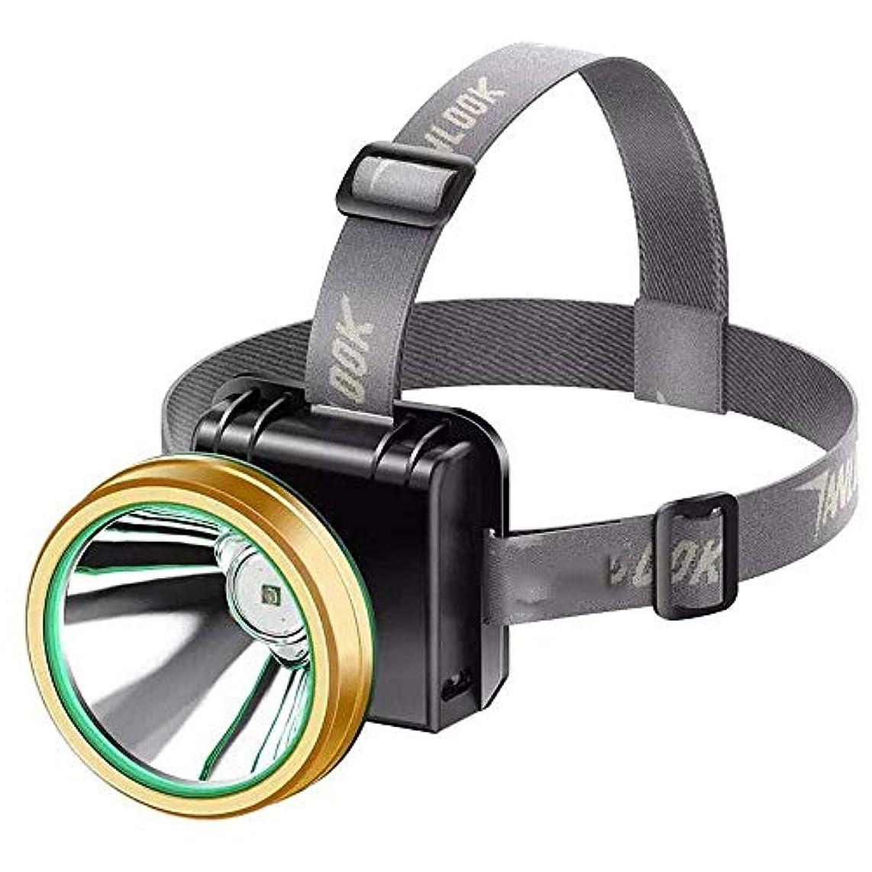 塗抹マトリックス登山家JKLL 最新の超高輝度ヘッドランプ懐中電灯、2モード高ルーメンIPX4防水ズーム可能with18650 USB充電式、ハイキングキャンプ用LEDヘッドライト