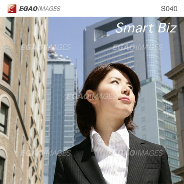 プレビスサイト自発的移植EGAOIMAGES S040 ビジネス「スマートビジネス」