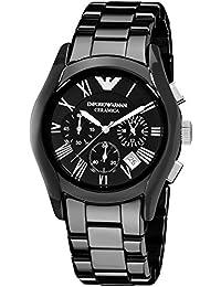 EMPORIO ARMANI エンポリオ アルマーニ メンズ セラミカ メンズ 腕時計 ブラック AR1400 [並行輸入品]