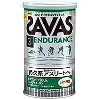 ザバス(SAVAS) タイプ3エンデュランス ソイプロテイン+マルトデキストリン バニラ味 【18回分】 378g