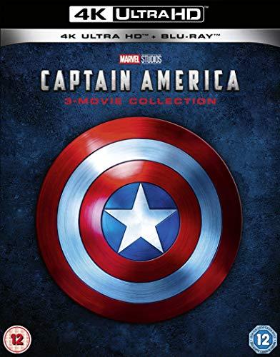 キャプテン・アメリカ 4K トリロジーBOX [4K UHD+Blu-ray リージョンフリー ※4K UHDのみ日本語有り](輸入版) -Captain America 4K UHD Trilogy -