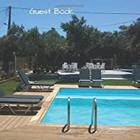 Guest Book: 80 page guest book for visitors on holiday to leave a message about their stay.