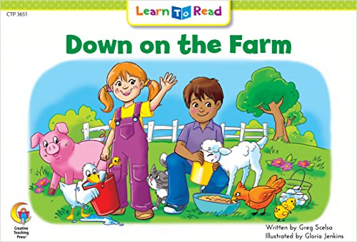 Down on the Farm: Emergent Reader Books (Learn to Read Fun & Fantasy Series. Emergent Reader Level 2)の詳細を見る