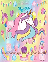50+ Unicorn coloring book for kids: An unicorn coloring activity book for kids & toddler age 6,7,8,9,10,11 & 12. Unicorn coloring book with color by number & funny design to active their brain. A new year gift for kids.