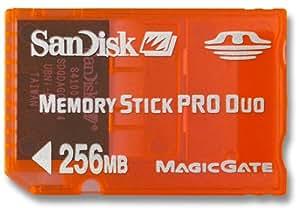 SanDisk製メモリースティックPROデュオ256MB<ORANGE>