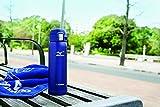 象印 ( ZOJIRUSHI ) 水筒 直飲み 軽量ステンレスマグ 「MIZUNO」モデル 480ml ブルー SM-SM48-AA 画像