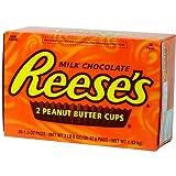 Reese's リーシーズ ピーナッツ バターカップ 36個入(お得な1.53kg) [並行輸入品]