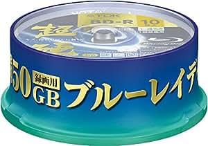 TDK 録画用ブルーレイディスク 超硬シリーズ BD-R DL 50GB 1-4倍速 ホワイトワイドプリンタブル 10枚 スピンドルケース入り GBRV-50HCPWB10PF