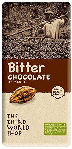 第3世界ショップ ビターチョコレート 100g...