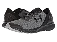 [UNDER ARMOUR(アンダーアーマー)] メンズランニングシューズ・スニーカー・靴 UA Charged Escape Black/Black/White 8 (26cm) D - Medium [並行輸入品]