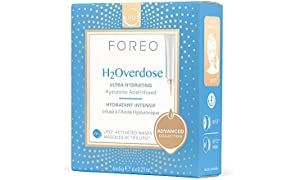 FOREO H2Overdose UFO-Activated Mask, 6g (Pack of 6)