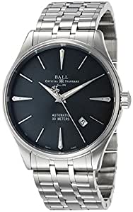 [ボールウォッチ]BALLWATCH 腕時計 トレインマスター レジェンド グレー文字盤 自動巻 NM3080D-SJ-GY メンズ 【並行輸入品】