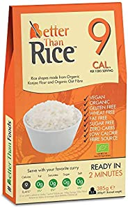 Better Than Organic Konjac Rice, 385 g