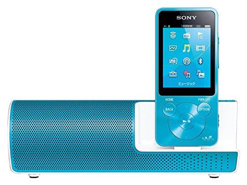 ソニー SONY ウォークマン Sシリーズ NW-S14K : 8GB Bluetooth/NFC対応 イヤホン/スピーカー付属 ブルー NW-S14K L
