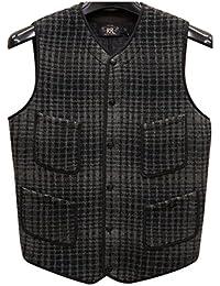 (ダブルアールエル) RRL インディゴ ジャガード ニット ベスト メンズ Indigo Jacquard Knit Vest 並行輸入品 [並行輸入品]