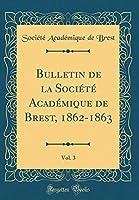 Bulletin de la Société Académique de Brest, 1862-1863, Vol. 3 (Classic Reprint)