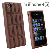 iPhone4S チョコレートケース ミルクチョコ