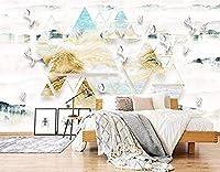 Ljunj 3Dクレーン壁紙ウォールプリント壁画-250X175Cm