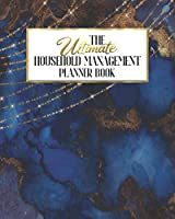 The Ultimate Household Management Planner Book: Peacock Enchantment | Home Tracker | Family Record | Calendar | Contacts | Password | School | Medical Dental Babysitter | Goals Financial Budget Expense