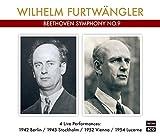 フルトヴェングラー、4種の「第九」 (ターラ編) (Furtwangler / BEETHOVEN SYMPHONY No.9 (4 Live Performances) [CD] [国内プレス] [MONO] [日本語帯・解説付]