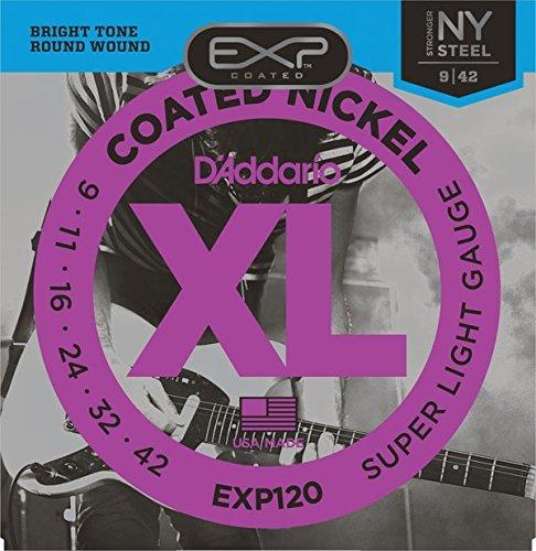 D'Addario/ダダリオ EXP120×2セット EXPコーティングエレキ弦[09-42]
