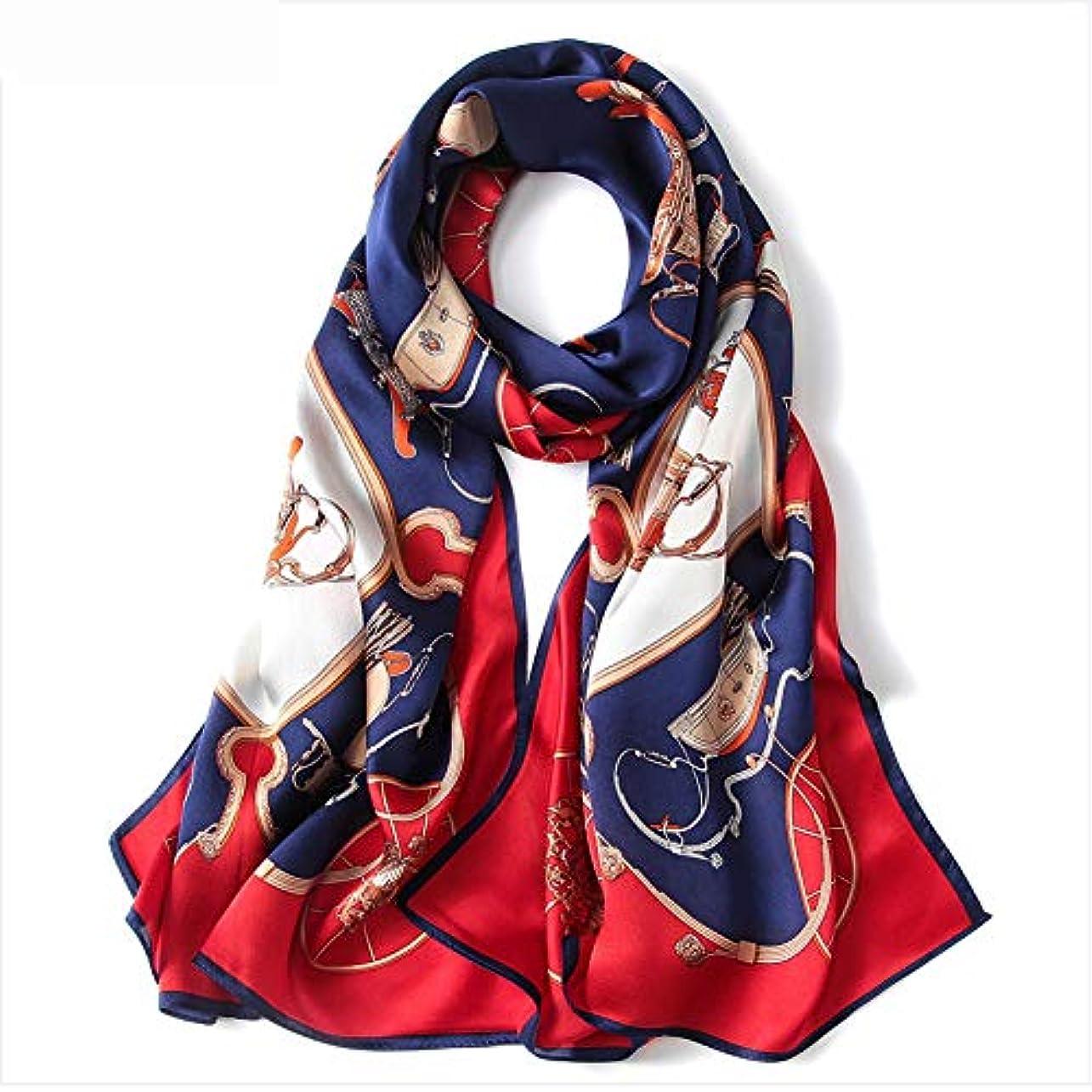 指紋同行する凝視[HR株式会社] スカーフ シルクレディース 大判 結婚式 ロング ショール 軽量 大きいサイズ サテン