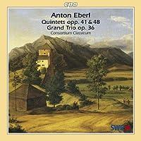エーベルル:ピアノ、クラリネット、2つのヴィオラとチェロのための大五重奏曲 他