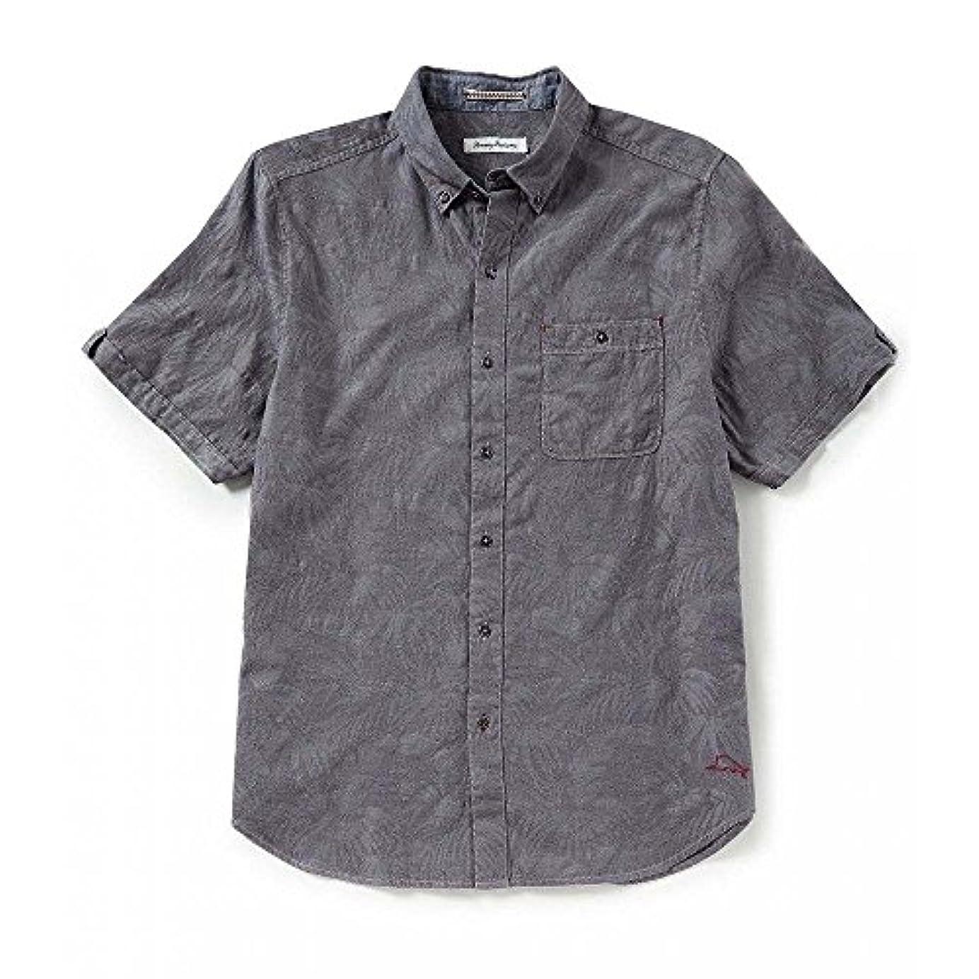 お金ブロッサム投げる(トミー バハマ) Tommy Bahama メンズ トップス 半袖シャツ Desert Fronds Short-Sleeve Woven Shirt [並行輸入品]