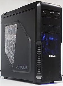 7世代 ゲーミングPC Core i7 7700K 4.20 Ghz/メモリーDDR4 16GB/SSD 240GB/HDD 2TB/GeForce GTX 1050ti (4GB)/B250M GAMING PRO マウス付き/DVDマルチ/Zalmanケース/OS:WINDOWS 10 PRO 64ビット/ブラック/{ゲーミングモデル}