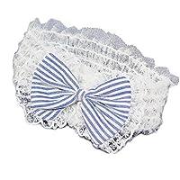 Seliyi ベビー&キッズ ヘアバンド とってもかわいい ブルーリボンデザインの髪飾り  ヘアアクセサリー 出産祝いにも!