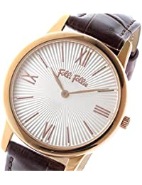 フォリフォリ マッチポイント クオーツ レディース 腕時計 WF15R032SPW-BR シルバー [並行輸入品]