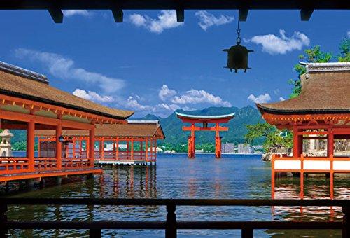 1000ピース ジグソーパズル 世界遺産 厳島神社(49x72cm)