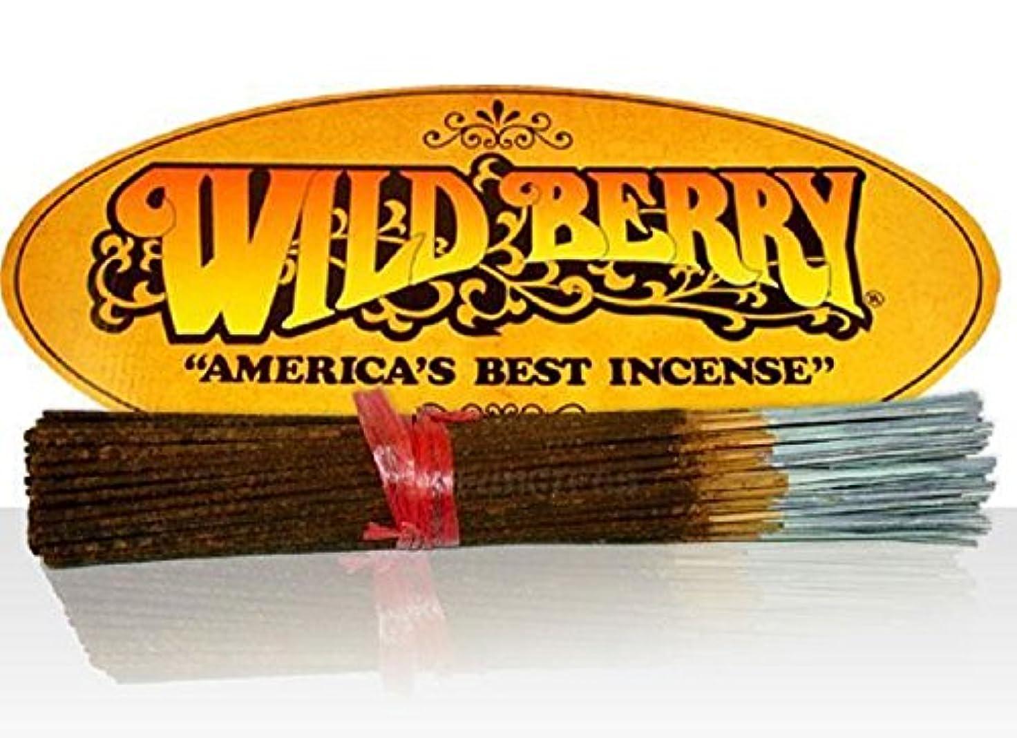 瞑想的アンタゴニスト衝動100pc Wild Berry Incenseバンドル – Harlequin