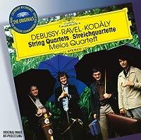 DG Originals Series: Debussy Ravel Kodaly: String Quartets (2012-10-09)