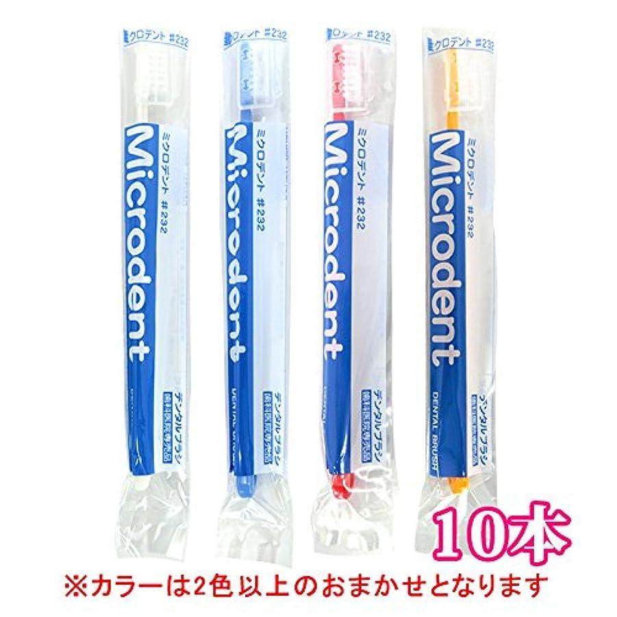 似ている専門用語国内のミクロデント(Microdent) 10本 (#232)【毛の硬さ:ふつう】歯科専売品