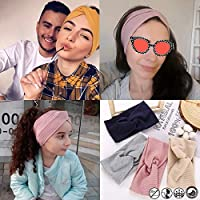 CS622960 17KM 13 Color Cotton Headband for Women Girl Baby Headband 2019 Elastic Knot Headbands Twist Fashion Cross Hair Accessories