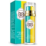 Face Double BB Cream Concealer Moisturizing Nourish Brighten BB Cream Natural Nude Makeup Long-Lasting Not Easy...