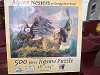 Alpine Nesters 500pc Jigsaw Puzzle by Gregg Beecham [並行輸入品]