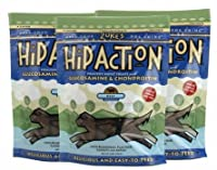 Zuke's Hip Action Dog Treats with Glucosamine and Chondroitin - Roasted Beef Recipe, 3-Pack, 6 Oz by Zuke's