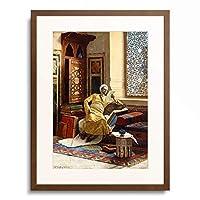 ルドウィック・ドイツ Ludwig Deutsch 「The Scholar. 1895」 額装アート作品